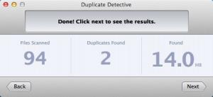 Enlarge Duplicate Detective Screenshot