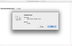 Enlarge CalcService Screenshot