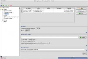 Enlarge PDFsam Screenshot