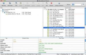 Enlarge MusicBrainz Picard Screenshot
