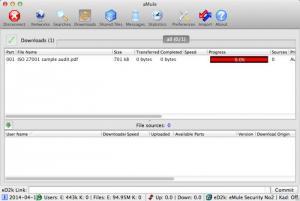 Enlarge aMule Screenshot