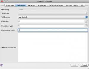 Enlarge PostgreSQL Screenshot