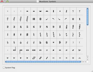 Enlarge MuseScore Screenshot