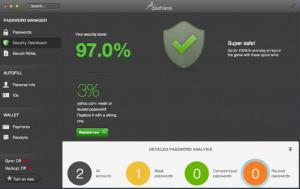 Enlarge Dashlane Screenshot