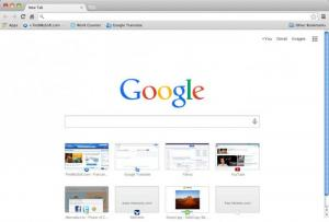 Enlarge Google Chrome Screenshot