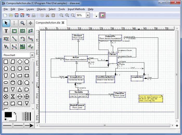view dia diagram editor screenshot : dia diagram - findchart.co