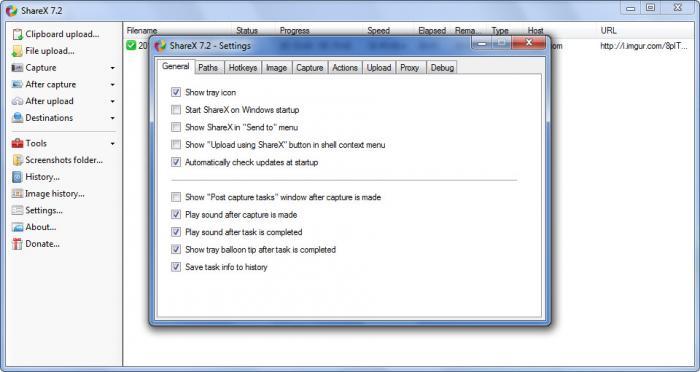 View ShareX screenshot