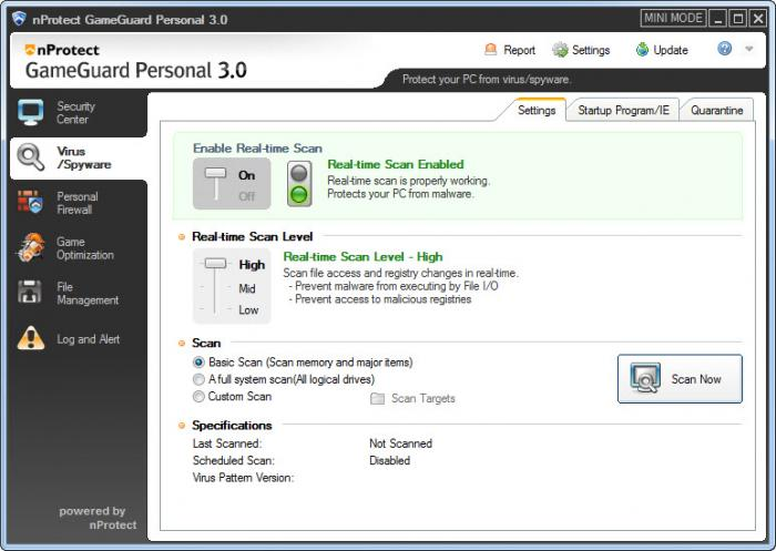 nProtect GameGuard Personal 3.0