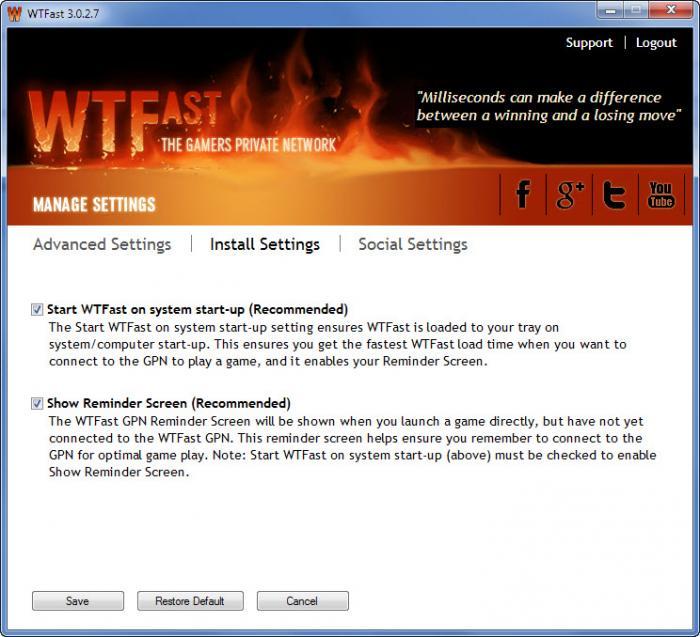 View WTFast screenshot