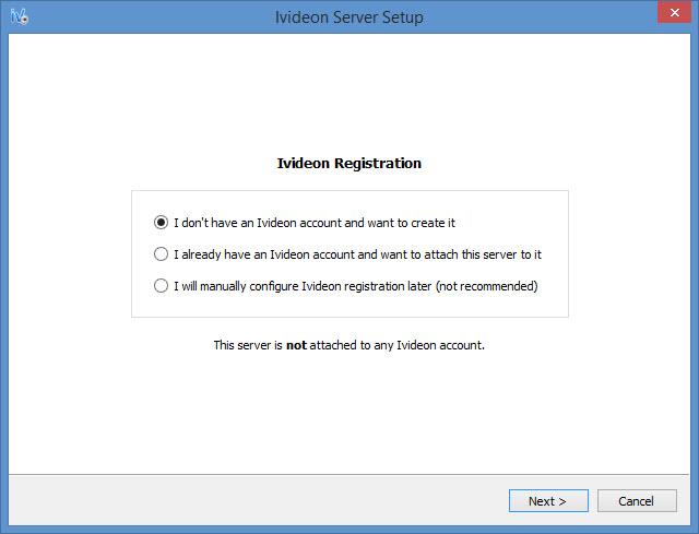 View Ivideon Server screenshot
