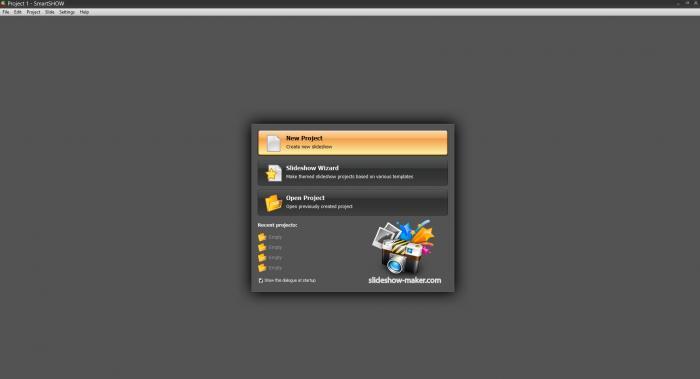 View SmartSHOW screenshot
