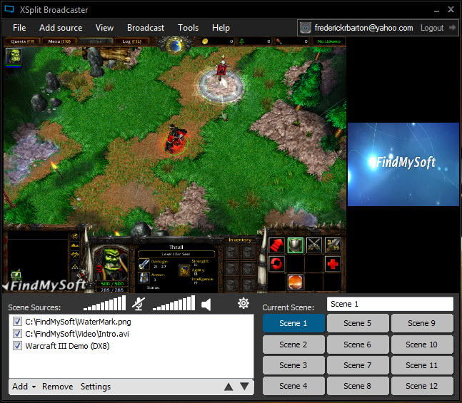 xsplit broadcaster full free download