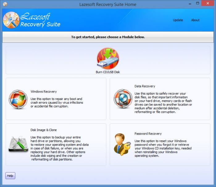 lazesoft recovery suite home edition portable