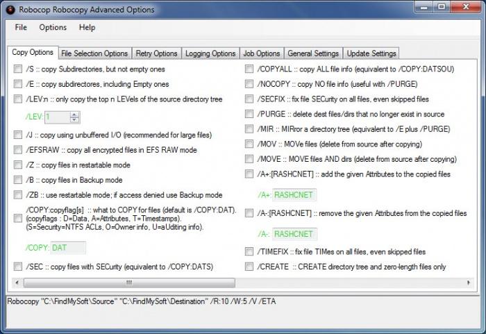 robocopy files in use