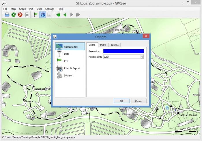 View GPXSee screenshot