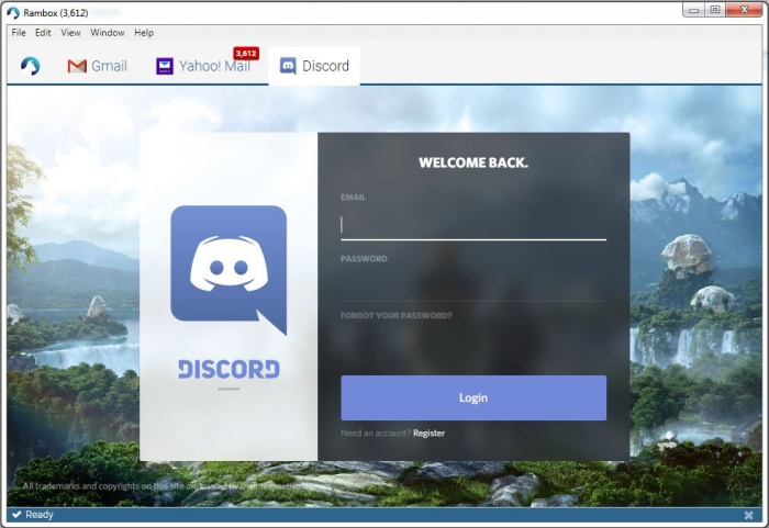 View Rambox screenshot