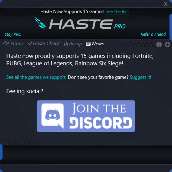 Haste Fortnite