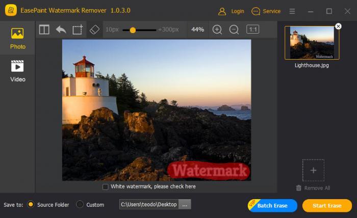 View EasePaint Watermark Remover screenshot
