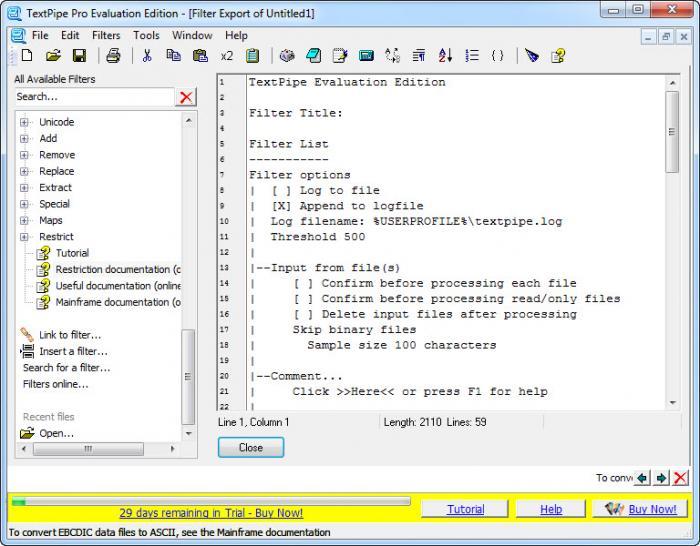 View TextPipe Pro screenshot