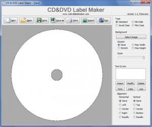 Enlarge CD&DVD Label Maker Screenshot