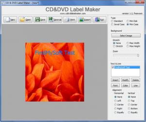 Enlarge CD&DVD Label Maker Screenshot