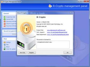 Enlarge R-Crypto Screenshot