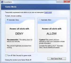 Enlarge ZoneAlarm Free Antivirus + Firewall Screenshot