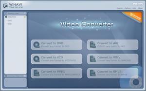 Enlarge WinAVI Video Converter Screenshot