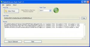 Enlarge Hash Tool Screenshot