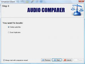 Enlarge Audio Comparer Screenshot