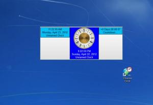 Enlarge Chronos Clock Screenshot