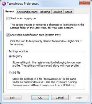 Enlarge Taekwindow Screenshot