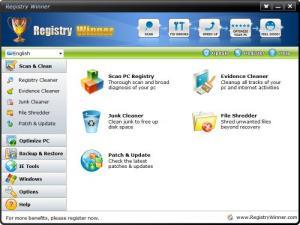 Enlarge Registry Winner Screenshot