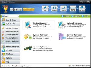 Enlarge Registry Winner Screenshot