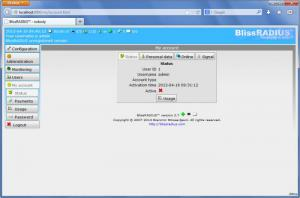 Enlarge BlissRADIUS Screenshot