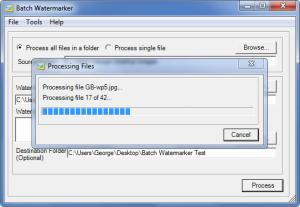Enlarge Batch Watermarker Screenshot