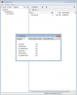 Enlarge IsoBuster Screenshot