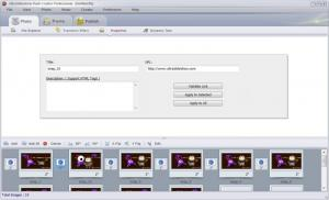 Enlarge UltraSlideshow Flash Creator Screenshot