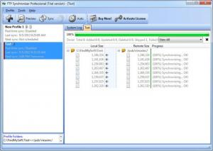 Enlarge FTP Synchronizer Pro Screenshot