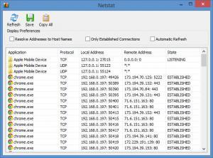 Enlarge NetWorx Screenshot
