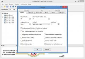 Enlarge SoftPerfect Network Scanner Screenshot