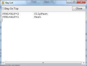 Enlarge ClipFast Screenshot