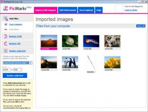 Enlarge PicMarkr Pro Screenshot