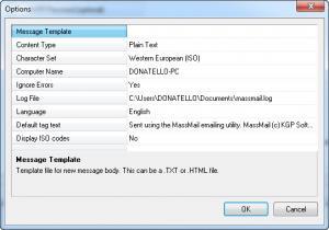 Enlarge MassMail Screenshot