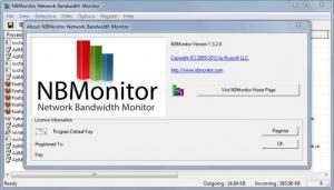 Enlarge NBMonitor Network Bandwidth Monitor Screenshot