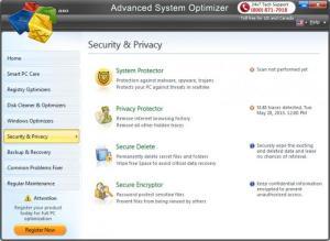 Enlarge Advanced System Optimizer Screenshot