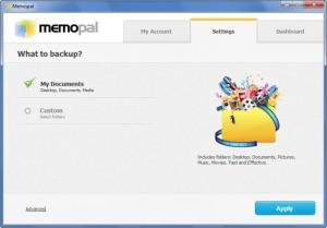 Enlarge Memopal Screenshot