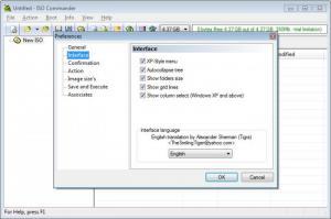 Enlarge ISO Commander Screenshot