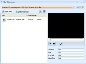 Enlarge EatCam Webcam Recorder Pro Screenshot
