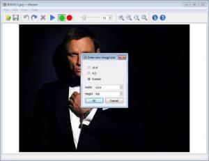 Enlarge iResizer Screenshot